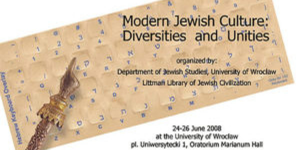Modern Jewish Culture: Diversities and Unities