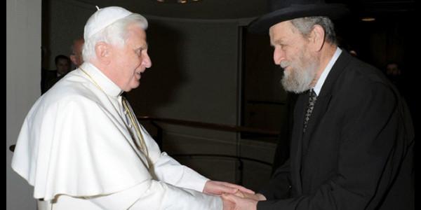 Papież Benedykt XVI i Żydzi - 2009