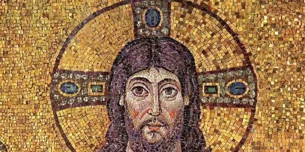 Christus Ravenna mosaic