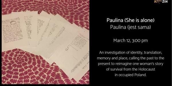 Paulina (jest sama)
