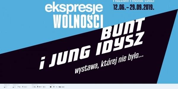 Plakat: Bunt i Jung Idisz - wystawa, której nie było