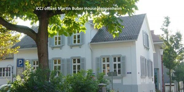 Biuro ICCJ w domu Martina Bubera w Heppenheim