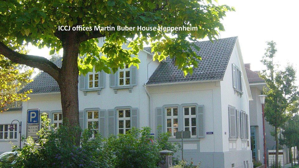 ICCJ offices Marrtin Buber House Happenheim