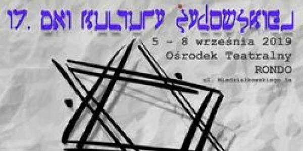 17. dni kultury żydowskiej w Słupsku - plakat