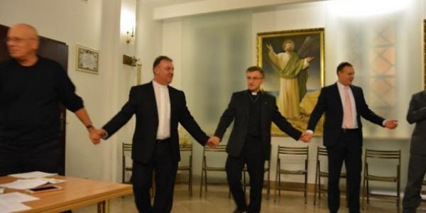 Spotkanie modlitewne chrześcijan i Żydów Wspolna Radość Tory 2015