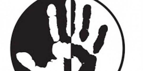 """Stowarzyszenie """"Nigdy Więcej"""" - fragment logo"""