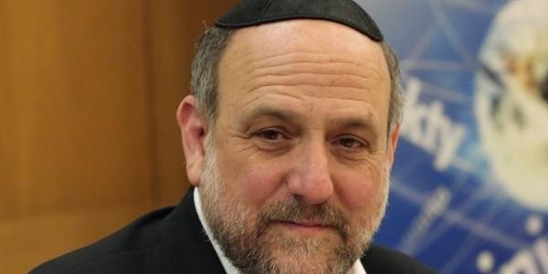 Michael Schudrich podczas Dnia Judaizmu 2018. Fot. BP KEP