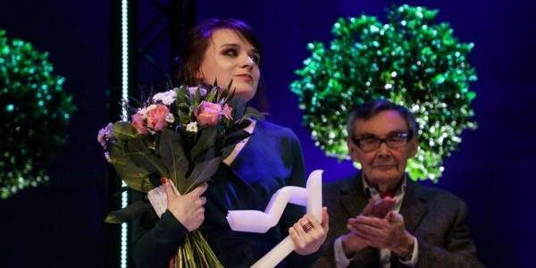 Natalia Bartczak laureatka Nagrody POLIN 2019, fot. M. Starowieyska / Muzeum Historii Żydów Polskich