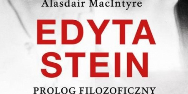 Alasdair MacIntyre, Esprit Edyta Stein Prolog filozoficzny 1913-1922, wydawnictwo Esprit, okładka