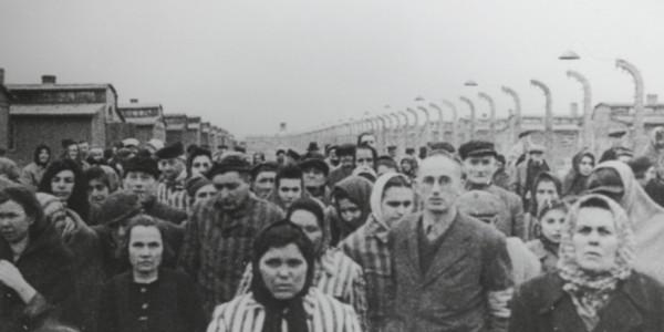 Auschwitz - z kronika wyzwolenia obozu, 1945.
