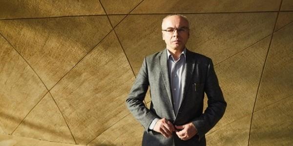 """Dariusz Stola w Muzeum POLIN, luty 2020 r. MACIEJ ZIENKIEWICZ DLA """"TP"""""""