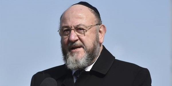 UK's Chief Rabbi Ephraim Mirvis