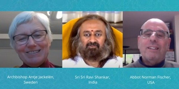 Coronaspection: Introspection VII: Archbishop Antje Jackelén - Sweden,  Sri Sri Ravi Shankar - India,  Abbot Norman Fischer - USA