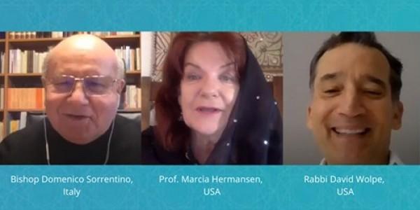 Coronaspection: Introspection VIII:  Bishop Domenico Sorrentino - Italy, prof. Marcia Hermansen - USA, Rabbi David Wolpe - USA.