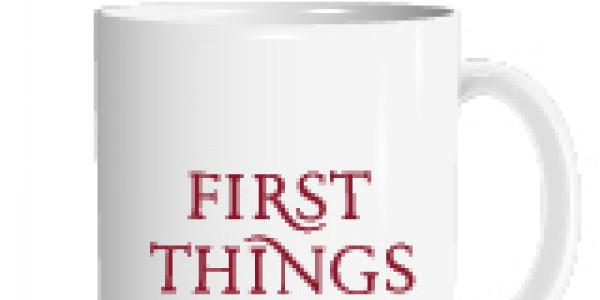 First Things - logo