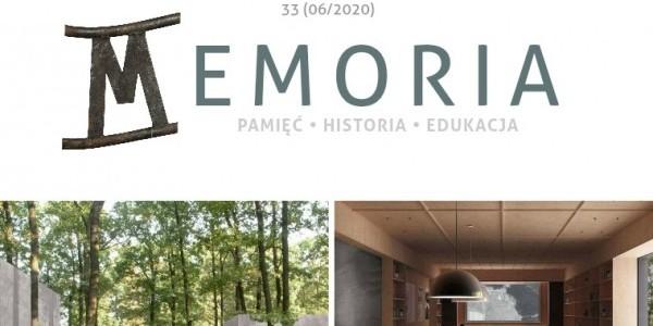 Magazyn Memoria  nr 33  (czerwiec 2020)