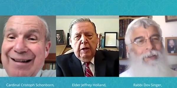 Coronaspection: Introspection XIII: Cardinal Cristoph Schonborn, Elder Jeffrey Holland, Rabbi Dov Singer