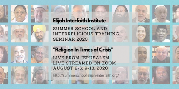 Elijah Interfaith Summer School 2020