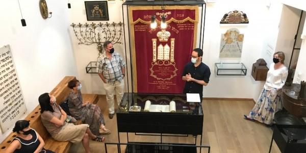 """""""Judaizm i synagoga"""" - seminarium zorganizowane w ramach projektu Żydowskie Dziedzictwo Kulturowe"""