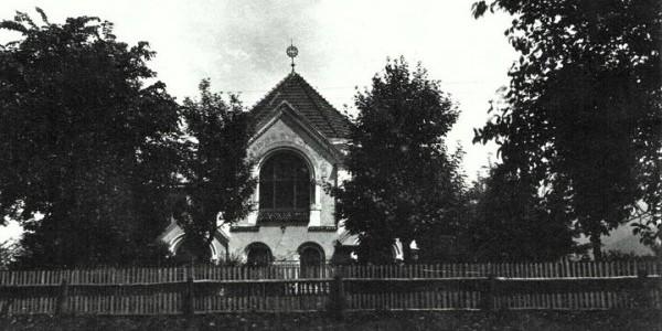 Dokładnie tak wyglądała Synagoga, która przed II wojną światową stała w Ustroniu.