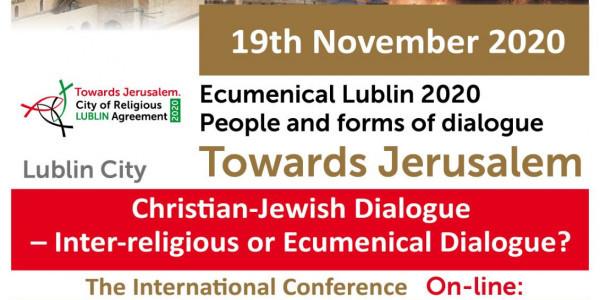 Christian-Jewish Dialogue - Inter-religious or Ecumenical Dialogue?