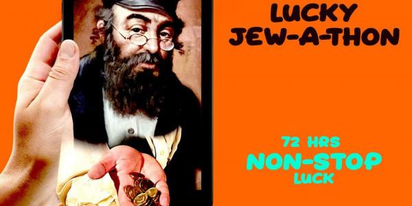 """""""Żyd na szczęście"""" - """"Lucky Jewathon"""""""