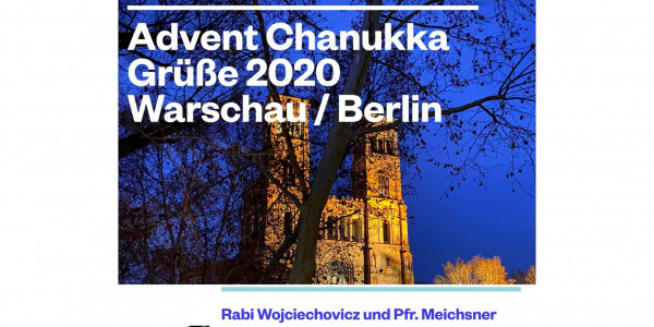 Advent Chanukka Warschau/Berlin