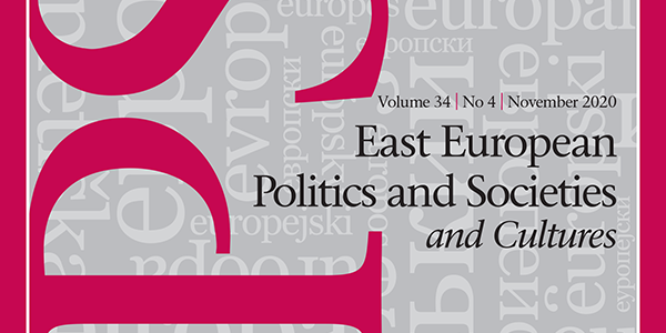 East European Politics and Societies and Cultures
