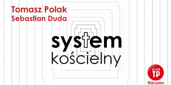 Tomasz Polack - System kościelny. Okładka