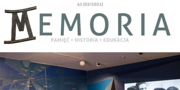 Magazyn Memoria nr 41, 2/2021