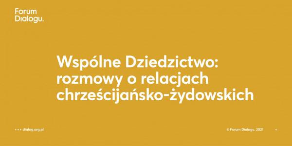Wspólne Dziedzictwo: rozmowa z prof. Stanisławem Krajewskim