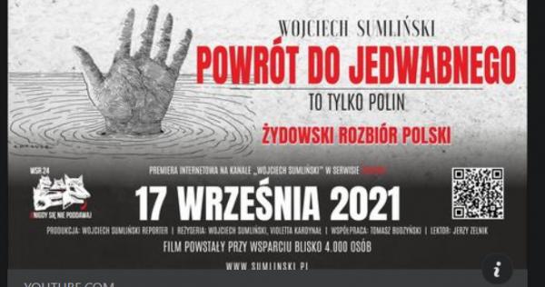 """Film """"Powrót do Jedwbnego"""" - plakat"""