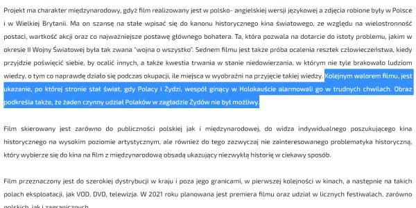 Ze strony internetowej Polskiej Fundacji Narodowej