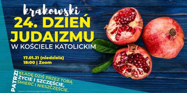 Krakowski 24. Dzień Judaizmu - plakat