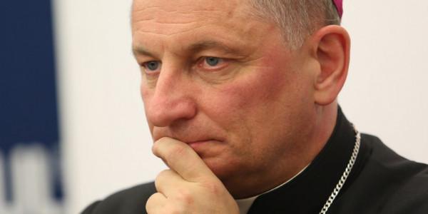 Bp Krzysztof Zadarko. Fot. KEP