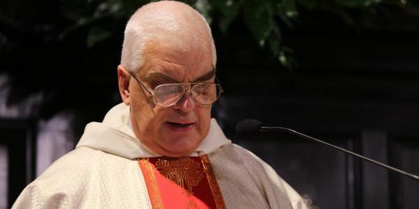 Wojciech Giertych OP podczas rekolekcji dla biskupów 19 listopada 2019 r. na Jasnej Górze. Fot. episkopat.pl