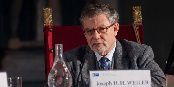 """Joseph H.H. Weiler, laureat tytułu """"Człowiek Pojednania""""  Polskiej Rady Chrześcijan i Żydów"""