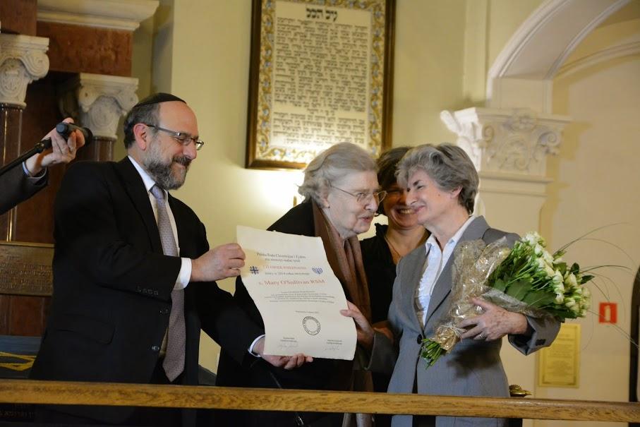 Siostra Mary O'Sullivan - Człowiek Pojednania za rok 2014