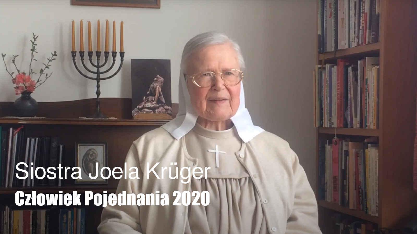 Siostra Joela Krüger - Człowiek Pojednania 2020